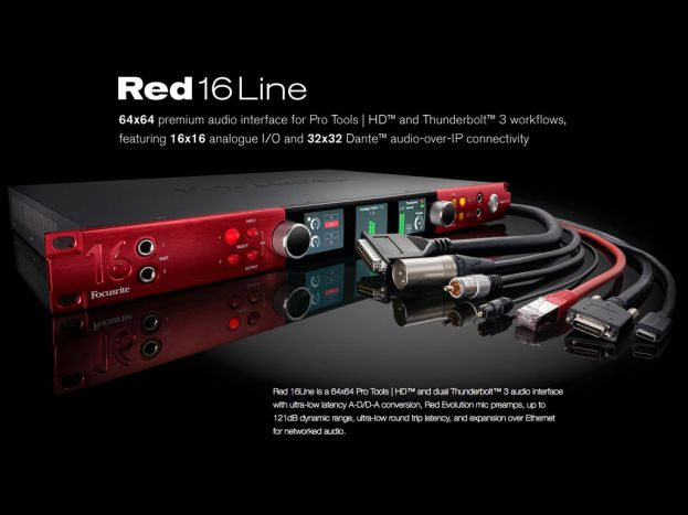 La Focusrite Red 16Line enfin disponible !