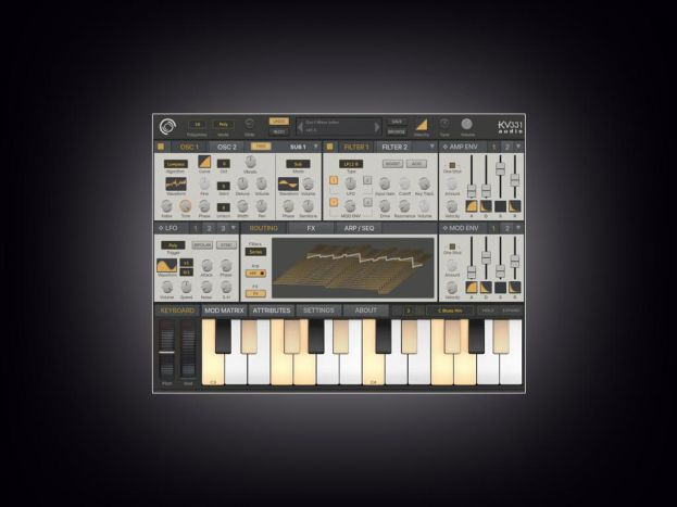 SynthMaster One iOS passe en v1.1