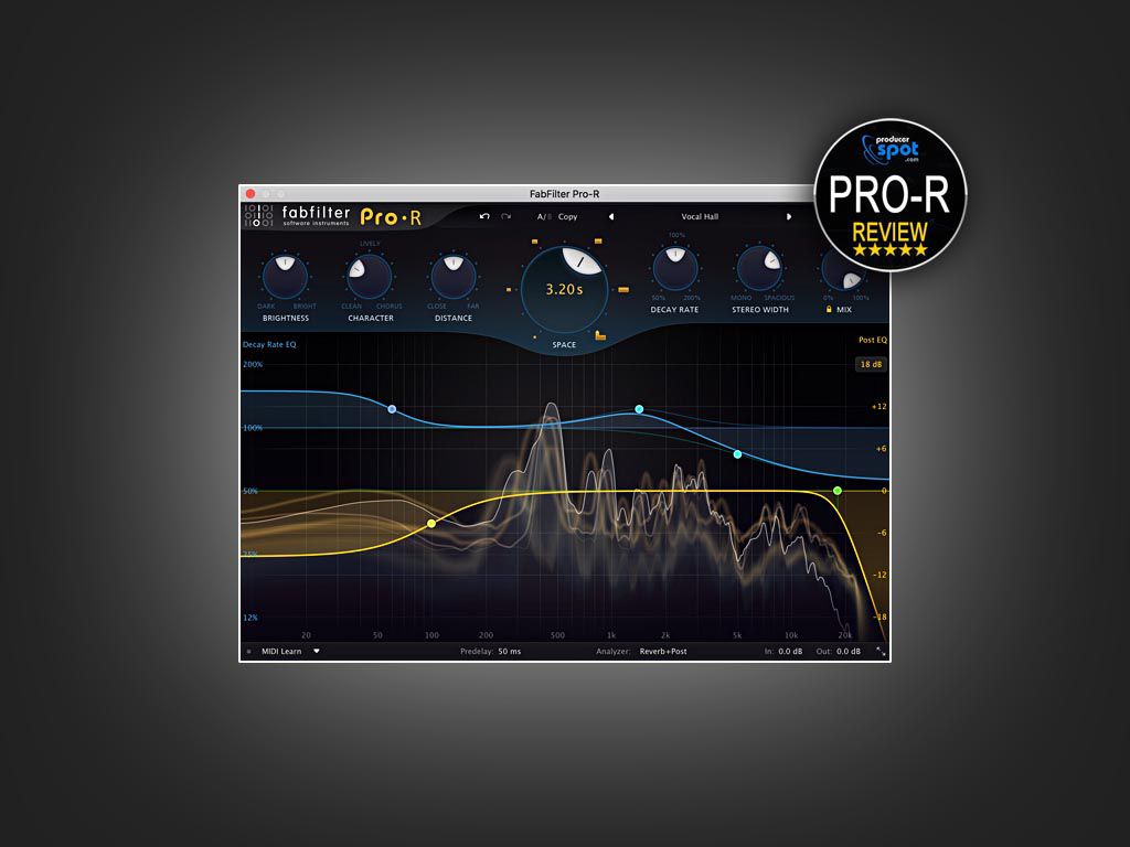 Test FabFilter Pro-R