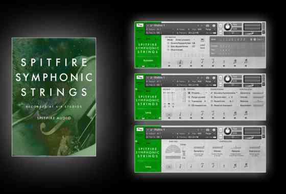 Test Spitfire Symphonic Strings